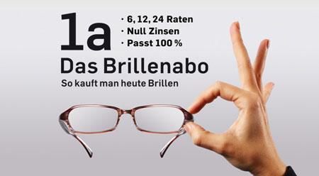 Das Brillenabo - einfach günstig sehen